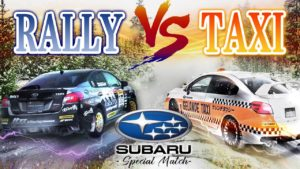 EPIC SPORT JAPANが「【Rally Car VS Taxi !?】Subaru WRX Special Match in the snowy mountain」を公開