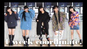 Hina(FAKY):Hina Tubeが「【1週間コーデ】2021年最新!冬のコーデ紹介!【clothing haul】」を公開